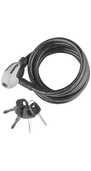 Masterlock 8236 - Candado de cable - 10 mm x 1.800 mm negro